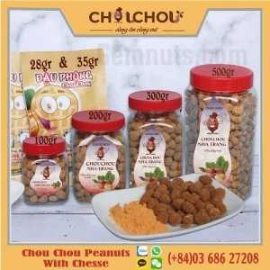 chou chou peanuts with chesse