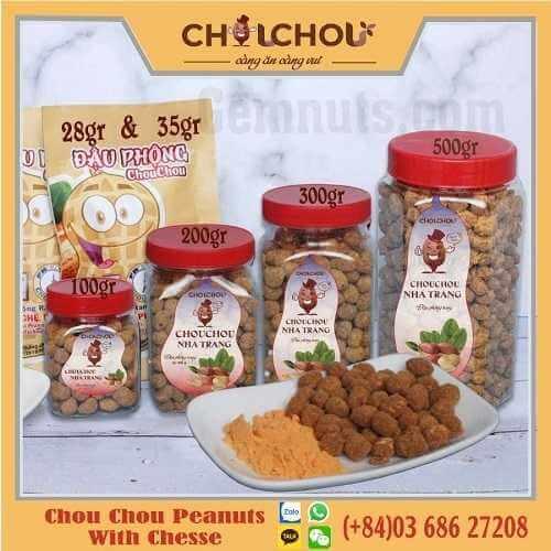 chou chou peanuts with chesse