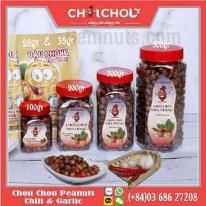 chou chou peanuts with chili and garlic
