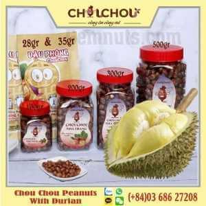 chou chou peanuts with durian