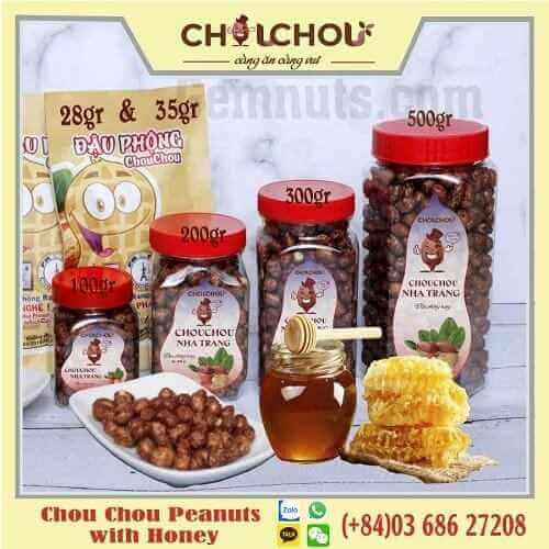 chou chou peanuts with honey 01