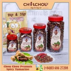 chou chou peanuts with tamarine